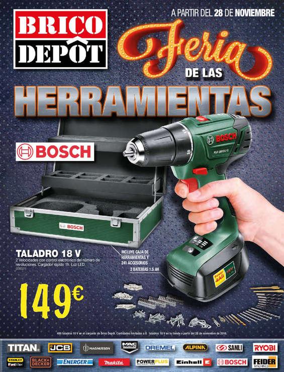 Ofertas de Bricodepot, Feria de las herramientas