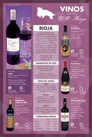 Vinos, cavas y licores