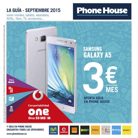 Ofertas de Phone House, La Guía Septiembre 2015