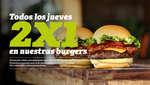 Ofertas de The Good Burger, Todos los jueves 2x1