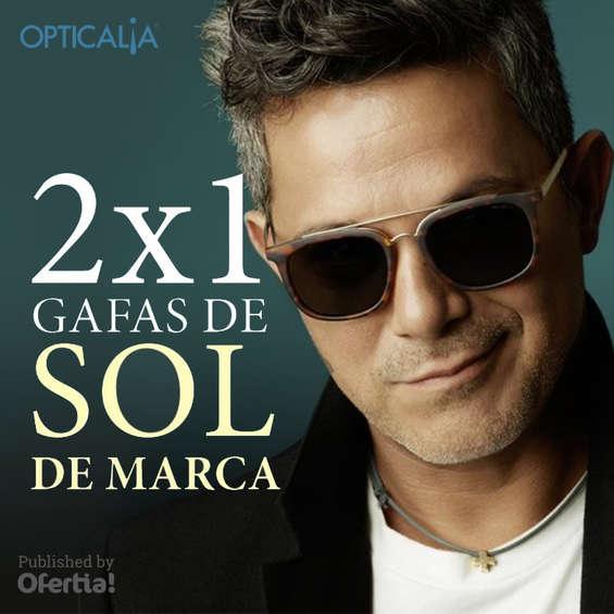 Ofertas de Opticalia, 2x1 en gafas de sol de marca