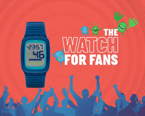Ofertas de Swatch, The Watch for Fans