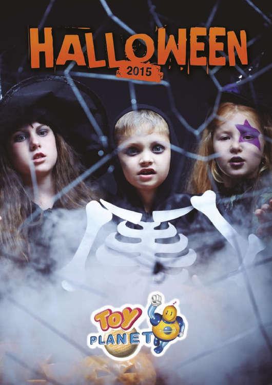 Ofertas de Toy Planet, Halloween 2015