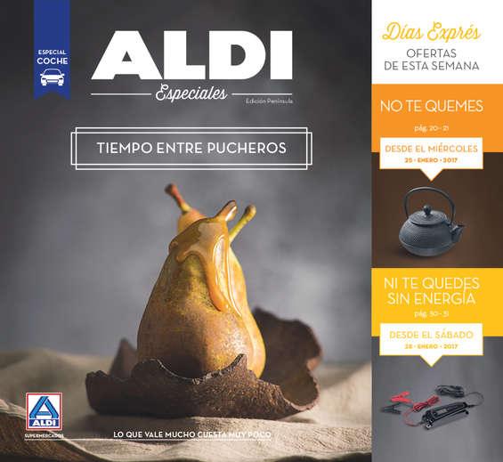 Ofertas de ALDI, Tiempo entre pucheros