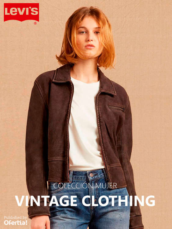 Ofertas de Levi's, Vintage Clothing. Colección Mujer