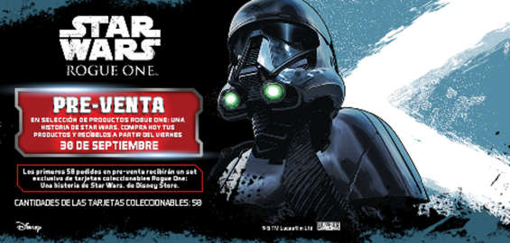 Ofertas de Disney Store, Star Wars