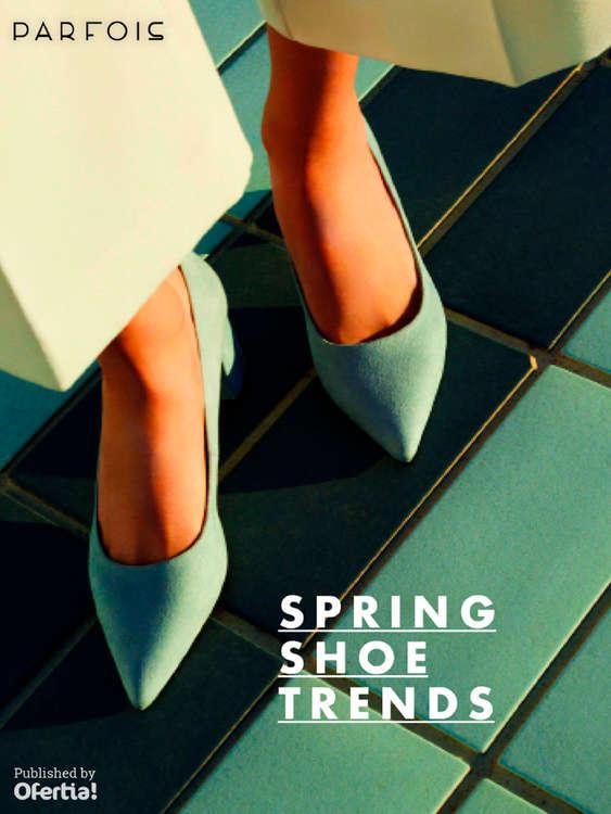 Ofertas de Parfois, Spring Shoe Trends