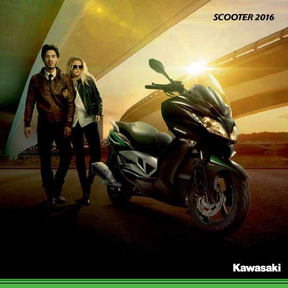 Ofertas de Kawasaki, Scooter 2016