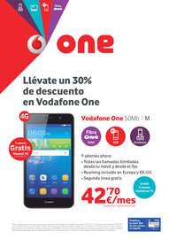 Llévate un 30% de descuento en Vodafone One