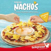 Nachos, la nueva Telepizza que se dipea