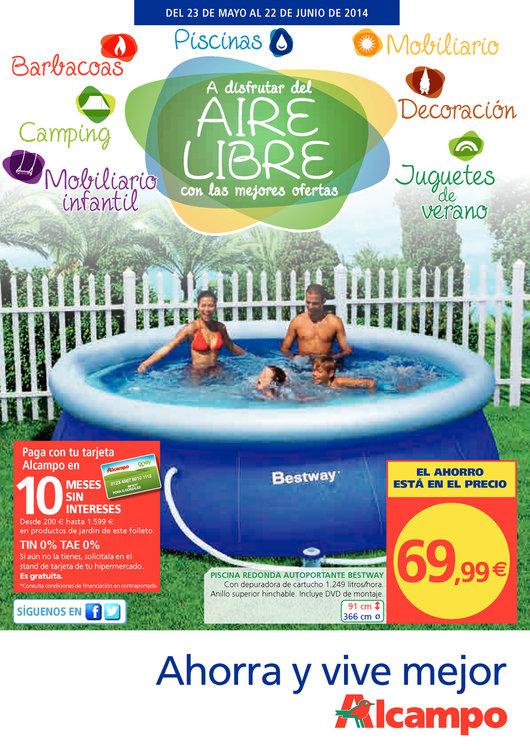 Alcampo ofertas cat logo y folletos ofertia for Catalogo piscinas alcampo