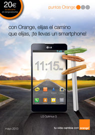 Orange: Ofertas puntos mayo