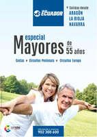 Ofertas de Viajes Ecuador, Especial Mayores de 55 años. Salidas desde Aragón, La Rioja y Navarra