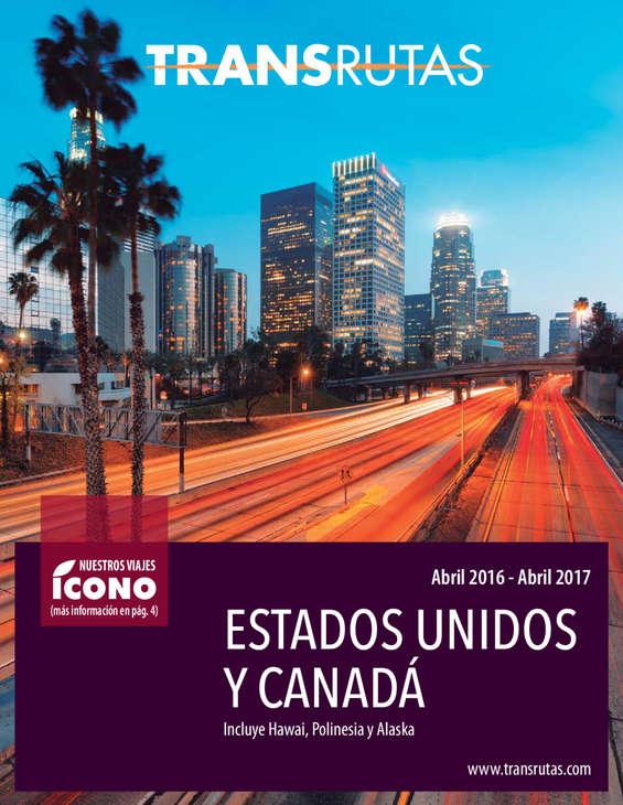Ofertas de Transrutas, Estados Unidos y Canadá