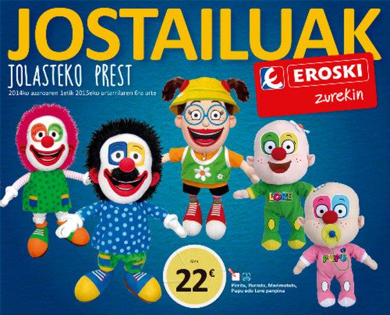 Ofertas de Eroski, Jostailuak