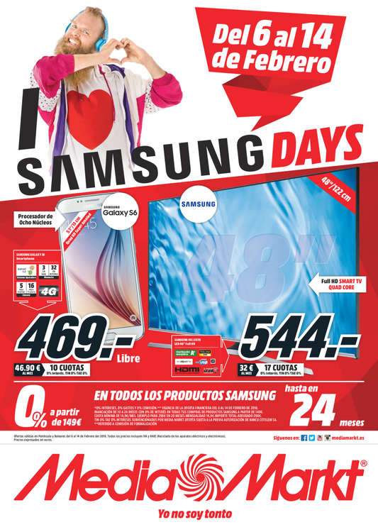 Ofertas de Media Markt, Samsung Days - Lugo