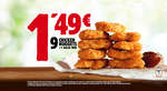 Ofertas de Burger King, Chicken Nuggets