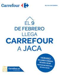 El 9 de febrero llega Carrefour a Jaca