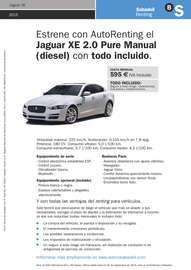Renting Jaguar