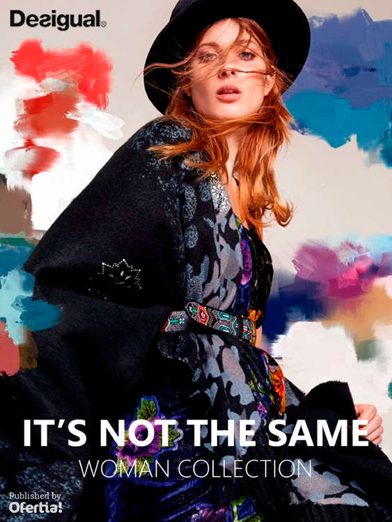 Ofertas de Desigual, It's not the same - Woman Collection