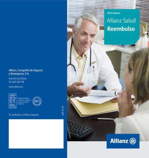 Ofertas de Allianz, Seguro Salud Reembolso