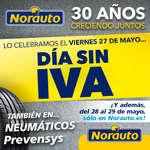 Ofertas de Norauto, Días sin IVA