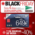 Ofertas de El Corte Inglés, Black Friday. Solo 4 días