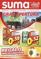 Ofertas de Suma Supermercados, Gran Apertura Santa Lucía de Tirajana