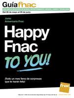 Ofertas de FNAC, Happy Fnac to you