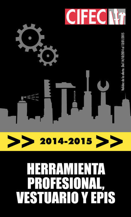 Ofertas de Cifec, Profesional 2014