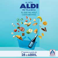 Al nou ALDI de Vila-Seca el que val molt costa ben poc