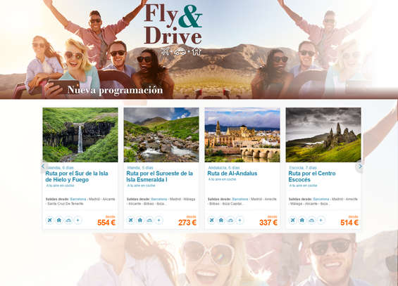 Ofertas de Arganda Viajes, Fly & Drive