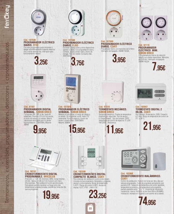 Comprar termostatos digitales barato en madrid ofertia for Ferrokey jardin 2016