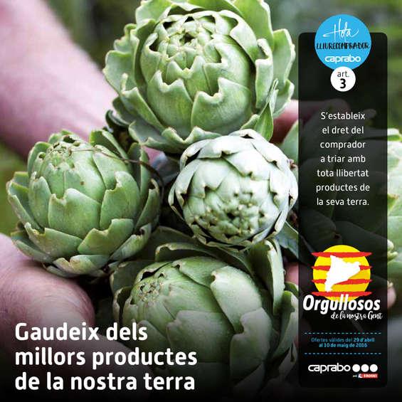 Ofertas de Caprabo, Gaudeix dels millors productes de la nostra terra