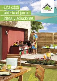 Una casa abierta al jardín
