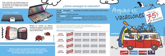 Ofertas de OpenCor, Cartilla promoción maletas