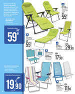 Ofertas de Carrefour, Càmping, platja, piscines i jardí