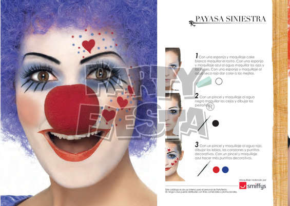 Ofertas de Party Fiesta, Maquillaje en 3 pasos