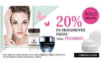 20% en tratamiento facial