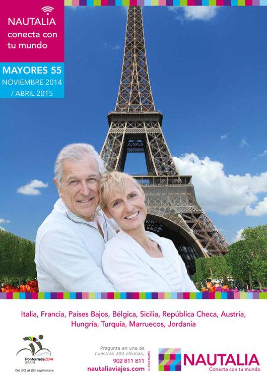 Ofertas de Nautalia, Mayores 55 noviembre 14 - abril 15