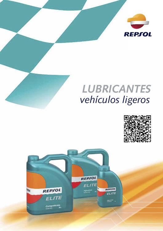 Ofertas de Repsol, Guía de lubricantes ligeros