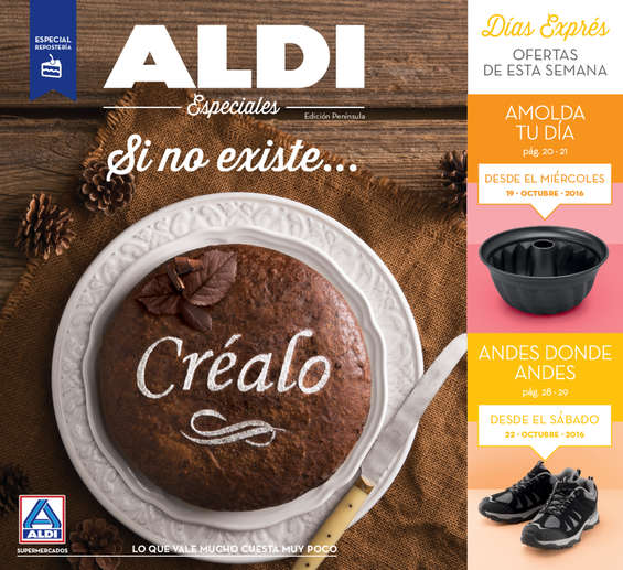 Ofertas de ALDI, Si no existe... Créalo