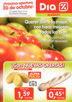 Ofertas de Dia Market, ¡Próxima apertura 30 de octubre!