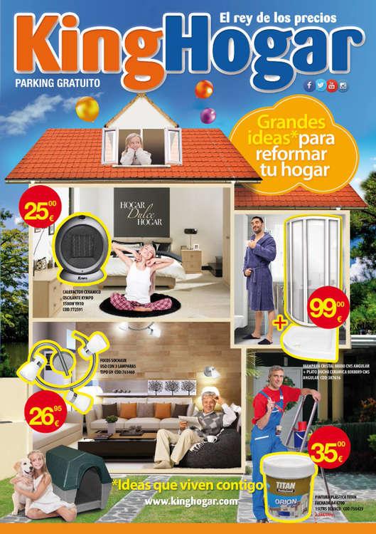 Ofertas de King Hogar, Grandes ideas para reformar tu hogar