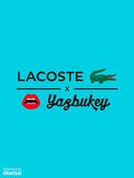 Ofertas de Lacoste, Lacoste x Yazbukey