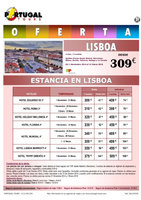 Ofertas de Central de Viajes, Lisboa