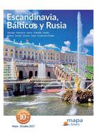 Ofertas de Viajes Cemo, Escandinavia, Bálticos y Rúsia 2017