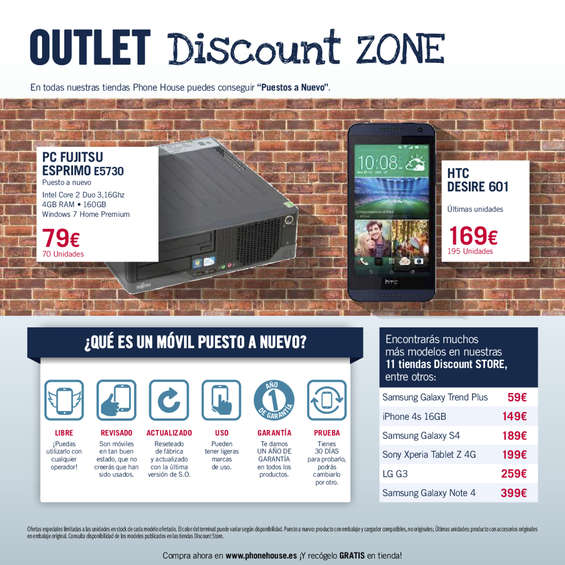 Ofertas de Phone House, La Guía - Agosto 2015