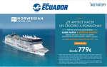 Ofertas de Viajes Ecuador, Crucero