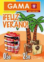 Ofertas de Supermercados Gama, ¡Feliz verano!